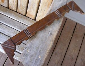 21 Antique Architectural Wood Salvage Piece Vintage Victorian Farmhouse Decor