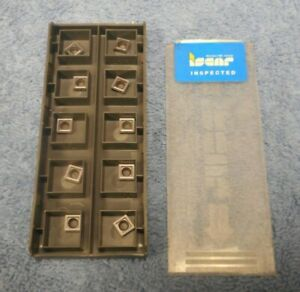 Iscar Carbide Inserts Somt 060204 dt Pack Of 10 Grade Ic908