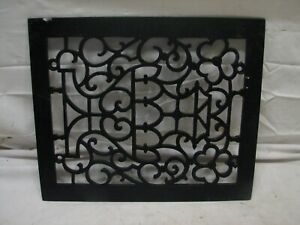 Cast Iron Floor Ornate Register Heat Grate Vent Grille Architectural 8 X 10