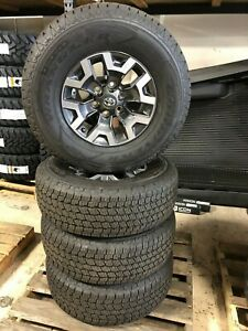 2019 16 Toyota Tacoma Wheels And 265 70r16 Goodyear Tires