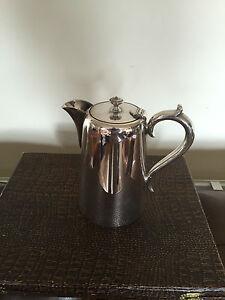 Lovely Hotel Ware Silver Plated Coffee Water Pot 1 Pint Capacity Cp 2332