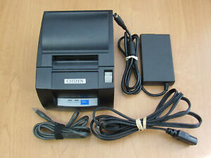 Citizen Ct s310a Point Of Sale Pos Usb Thermal Printer W Cords Tested Works