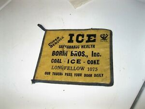 Antique Primitive Coal Ice Coke Sign Advertising Phone 1075 Nra Logo