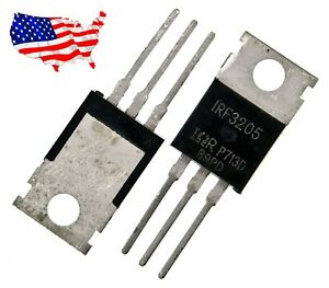 Irf3205 10 Pcs N channel 55v 110a To 220 Power Mosfet From Usa
