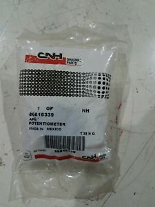Cnh New Holland 86616339 Potentiometer Electronic Engine New Case Part