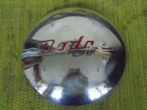 41 42 45 46 47 Dodge 9 Hub Cap Dog Dish Hubcap 1941 1942 1945 1946 1947