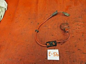 Triumph Tr6 Original Positive Battery Cable Lead