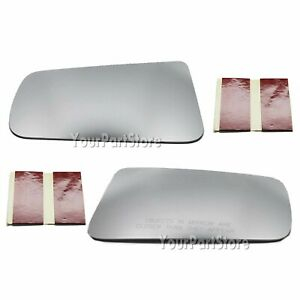 2008 2011 Ford Focus Non heated Side Door Mirror Glass Left Right Pair Set