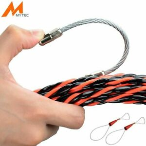 Plastic Steel Electrical Wire Threader Wire Cable Rope Connector Puller Tools