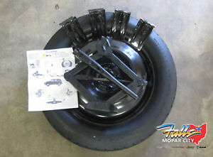2014 2020 Jeep Cherokee Replacement Spare Tire Kit New Mopar Oem