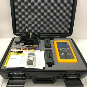 Fluke 660te Frame Relay Installation Assistant Tester W Case For Parts Repair