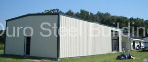 Durobeam Steel 26x32x10 Metal Building Prefab Clear Span Garage Structure Direct
