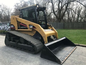 2007 Caterpillar 267b Rubber Track Skid Steer Loader Cab Ac Diesel Cat Crawler