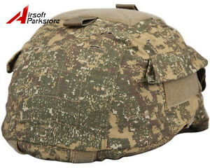 EMERSON Airsoft Hunting Tactical Helmet Cover for MICH 2001 ACH Helmet Badland