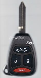 Replacement Remote Key Fob For 2007 2008 2009 2010 2011 2012 Dodge Caliber Nitro