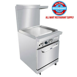 24 Gas Range 24 Griddle 1 20 Oven Cookrite Ato 24g