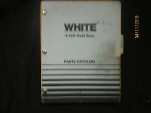 Oliver Minneapolis Moline White 4 150 Field Boss Tractor Parts Book Manual 1974