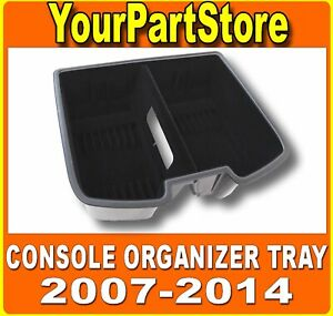 Front Center Floor Console Compartment Organizer Tray For 07 14 Chevy Silverado