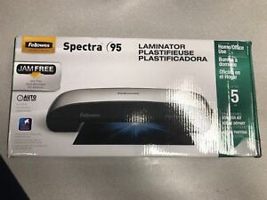 New Factory Sealed Fellowes Spectra 95 Laminator