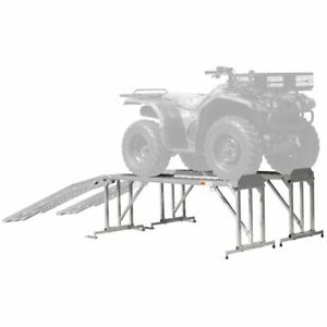 Atv Service Stand Platform With Ramp 1 800 Lb Capacity