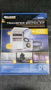 new Pro tran 2 8000 Watt 6 circuit Generator Transfer Switch Model 306lrk