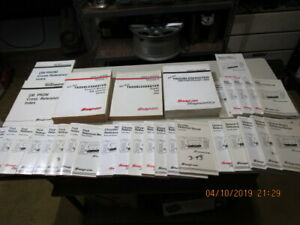 Snap On Scanner Reference Diagnostics Manuals Mt2500 31 Manuals One Lot