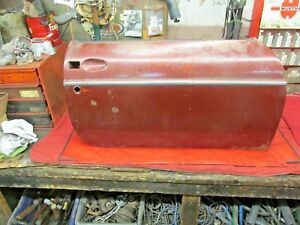 Mgb Original 62 65 Rt Door Early Pull Handle Style No Rust Or Damage