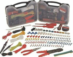 Vct Tool 399pc Piece Multi use Electrical Repair Kit Hand Sets W case