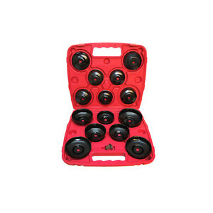 14 Pc 3 8 Dr Oil Filter Cup Wrench Socket Cap 65 14f To 100 15f