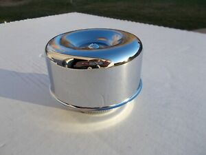 Air Cleaner Chrome Stromberg Rochester 2 5 8 Neck With Smooth Sides