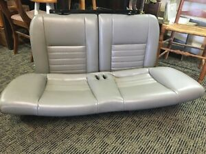 Ford Mustang 2001 Back Seat Two Pieces Gray