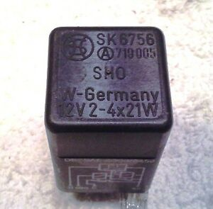 Bmw Early 4 pin Flasher Relay