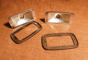 Vintage Taillight Bracket Holder Porsche 356 Pre A New Old Stock