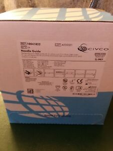 Civco Medical Disposable Endocavity Needle Guide 676 133 24 box Exp 1 1 2021