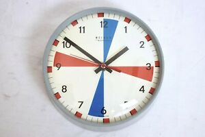 Vintage Weimar Quartz East German Gdr 7 Ships Wall Clock