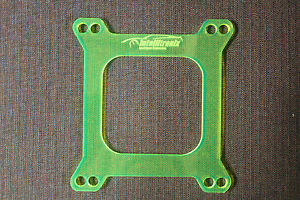 1 4 Carb Spacer Holley Carburetor Transparent Acrylic Spacer Made In Usa
