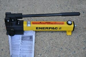 Enerpac P 2282 Hydraulic Hand Pump 2 Speed 40 000 Psi 60 Cu In New