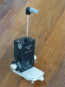 Haag Streit 900 Applanation Tonometer Calibrated Prism Head Mounting Plate
