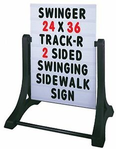 Swinger Standard Message Board Signs Custom Signage Business Outdoor Commercial