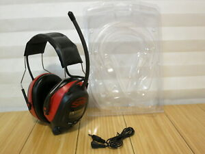 Sas Safety Earmuff Hearing Protection Radio Headphones Am Fm Radio