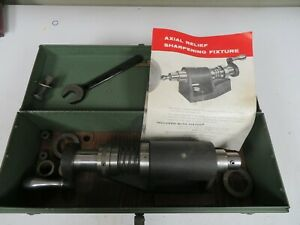 Weldon Axial Relief Sharpening Fixture W Accessories Case Nk15