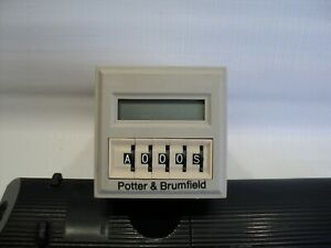 Potter Brumfield Cnt 35 96 Programmable Multifunction Timedelay Relay counter