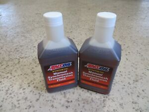 Amsoil Synthetic Manual Synchromesh Transmission Fluid 2 Quart