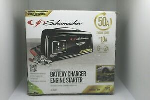 Schumacher Sc1361 Automatic Battery Charger 2 10 50 Amp Engine Starter