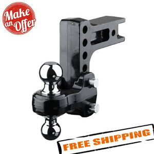 Fastway 49 00 5625 Solid Steel Hd Adjustable 2 Ball Mount 2 5 Hitch Receiver