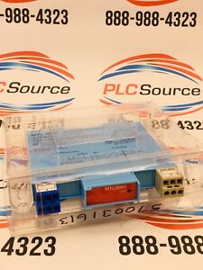 Measurment Technology Mtl5025 Low Current Loop Powered Solenold alarm Driver