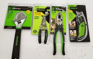 Greenlee 4 pc Mix Hand Tools