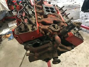 1964 Chevrolet Complete 409 Engine 3844422 Needs Complete Rebuild