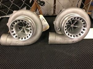 Twin Precision Turbo 6266 Journal Bearing Turbochargers Used Turbo