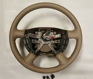 2003 2004 2005 2006 Ford Expedition Leather Steering Wheel Restored